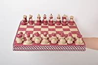 Beautiful Handmade Wooden Chess Board Cord Chessboard Best Gifts For Him