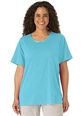 Dreams & Co. Women's Plus Size Sleepwear Tee