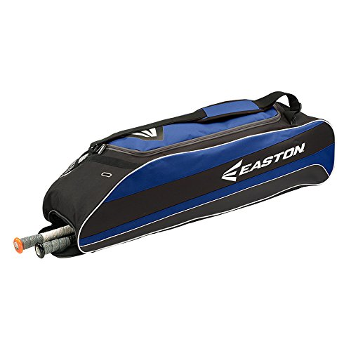 EASTON E500T Bat & Equipment Tote Bag | Baseball Softball | 2019 | Royal | 3 Bat Compartment | Vented Pockets | Interior Valuables Pocket | Water Bottle Pocket | Backpack Straps | Fence Hook (Ladies Softball Bats)