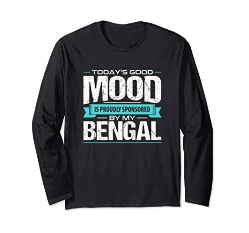 Bengal Cat Long Sleeve T-Shirt