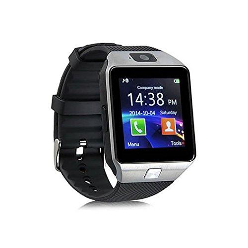 Reloj inteligente reloj teléfono Android IOS Bluetooth GSM Smartphone: Amazon.es: Relojes
