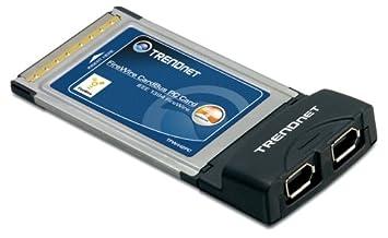 TrendNet 2-Port FireWire PC Card - Tarjeta PCMCIA (CardBus ...