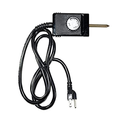 Heavy Duty 3 Wire Wide Probe Thermostat Control Cord fits Electric Smokers and Grills by Univen