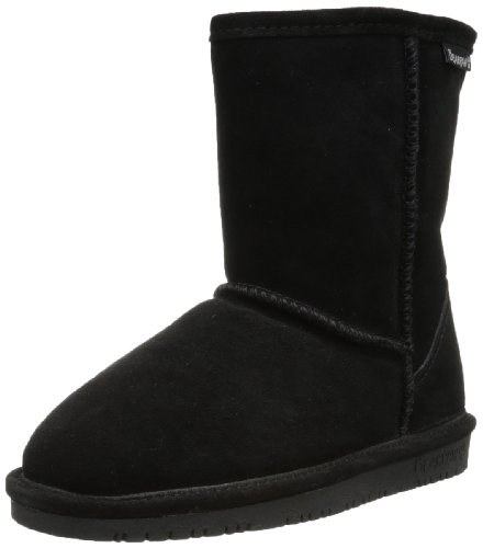 BEARPAW Emma 6.5 Inch Boot ,Black II,5 M US Big Kid