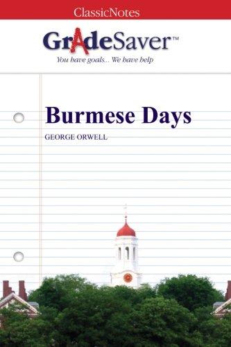 Burmese Days Study Guide | GradeSaver