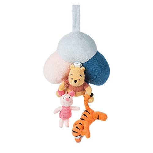 Disney Winnie The Pooh Plush Musical Mobile for Baby Multi ()