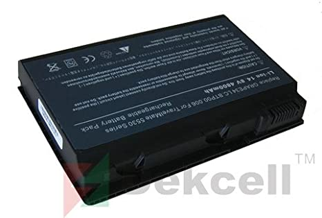 Laptop Battery for Acer Extensa 5210 5220 5630 7220 7620, TravelMate 5220 5230 5310 5320