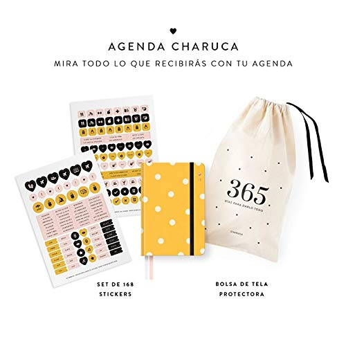 Amazon.com : Charuca AGM02 - Agenda, Yellow : Office Products