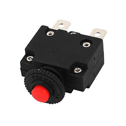 Uxcell AC 125/250V 15A 2Pin Air Compressor Circuit Breaker Overload Protector