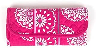 product image for Convertible Wallet by Stephanie Dawn, Made in USA, Quilted Cotton Fabric, Washable, Wristlet, Shoulder Bag, Accessory
