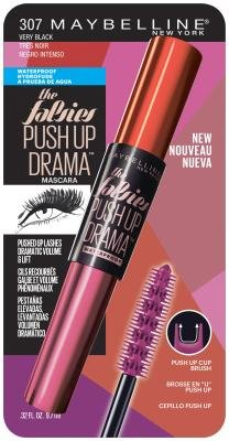 c3960a85775 Maybelline New York Volum' Express The Falsies Push Up Drama Waterproof  Mascara, Very Black