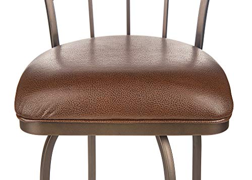 Tempo Furniture Replacement Barstool Cushions Sq. Rd. (Ford Expresso) ()