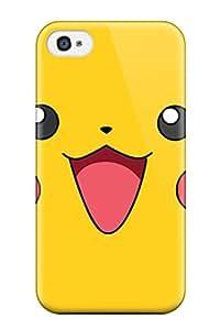 Cheap 7760335K366059135 pikachu Anime Pop Culture Hard Plastic iPhone 4/4s cases