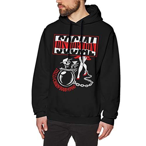 YouNood Social Distortion Mens Long Sleeve Sweatshirts Man's Hoodies XL -