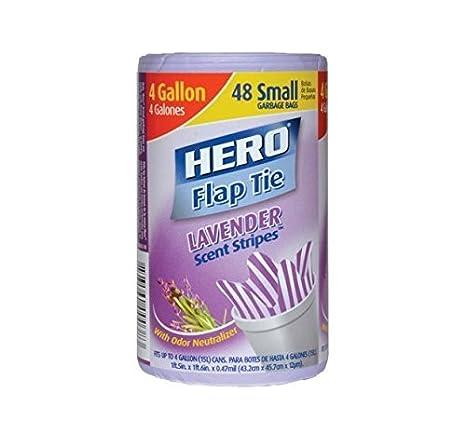 Amazon.com: HERO Lavanda Aroma rayas Flap Tie pequeñas ...