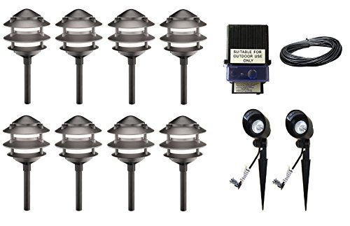 Pagoda Landscape Lighting Kits - 2