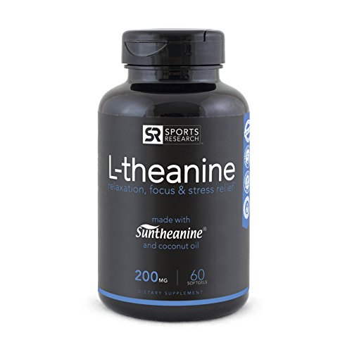 Suntheanine L Theanine Double Strength Cold Pressed Organic product image