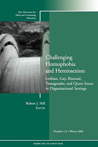 Challenging Homophobia Heterosexism 112