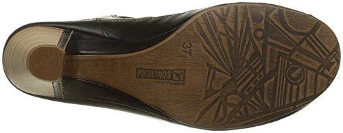 Java Pikolinos Black Women's Sandal Heel Mid S0xqU5