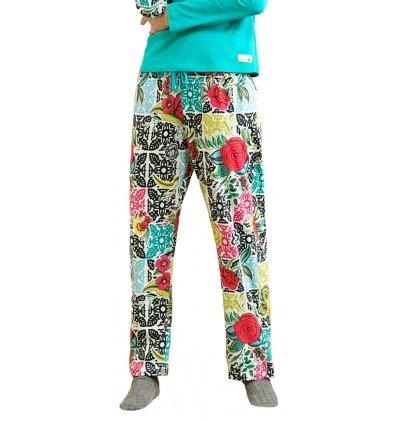 Bajo de pijama Desigual B & W Luxury NC multicolor small
