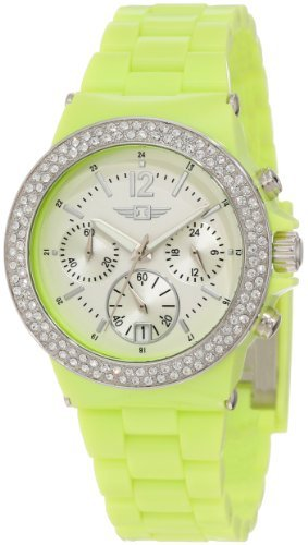 I by Invicta Women's IBI-43944-004 Chronograph Neon Watch