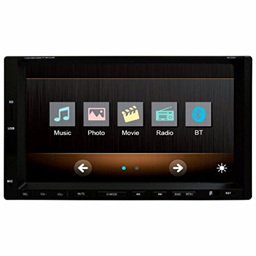 Discount Stereo (Boddenly 7'' HD 2DIN Bluetooth Touchscreen Car Stereo MP3 MP5 Player Video Player FM Radio USB)