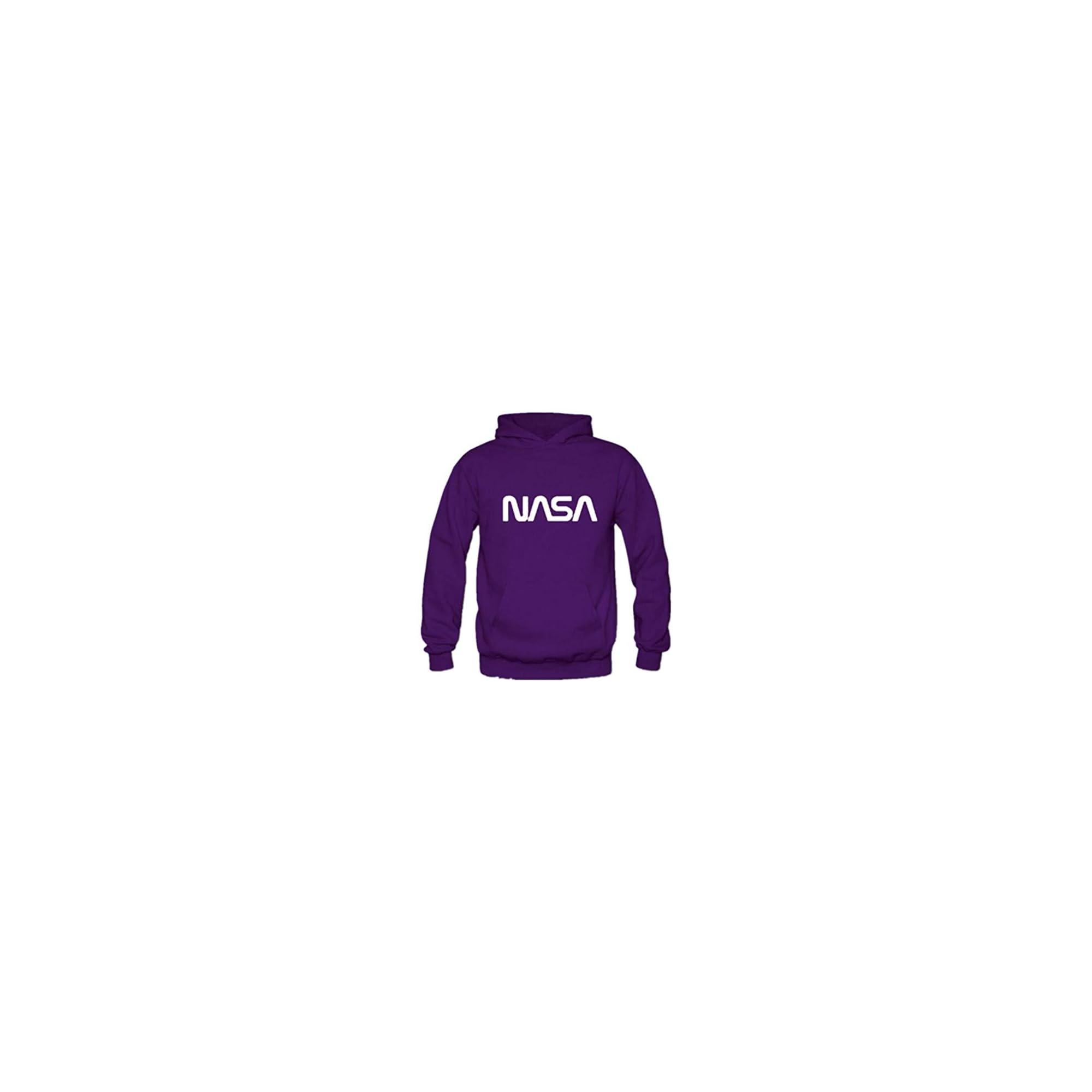 Sudadera Nasa Púrpura
