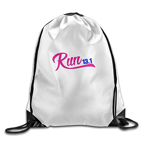Run 13.1 Sports Bag Drawstring Backpack