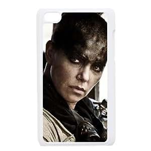 Mad Max Fury Road 3 funda iPod Touch 4 caja funda del teléfono celular blanco cubierta de la caja funda EEECBCAAJ04398