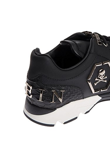 Black Herren nickel Hanzo Sneakers Plein Philipp ZqA0HH