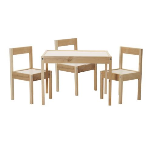 Superb Amazon Com Ikea Childrens Kids Table 2 Chairs Set Ibusinesslaw Wood Chair Design Ideas Ibusinesslaworg