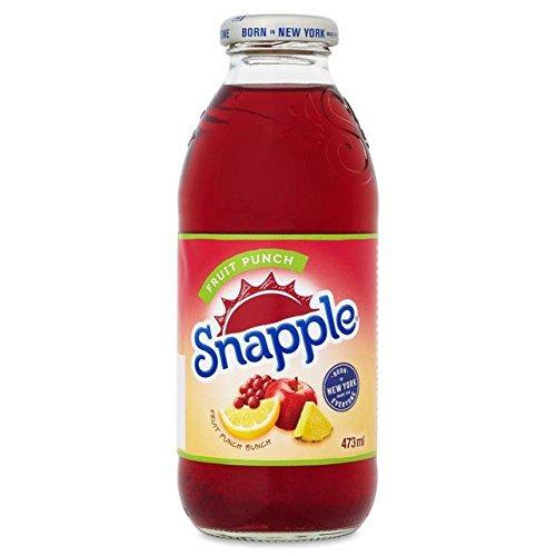 Snapple Fruit Punch Juice Drink - 473ml (15.99fl oz)