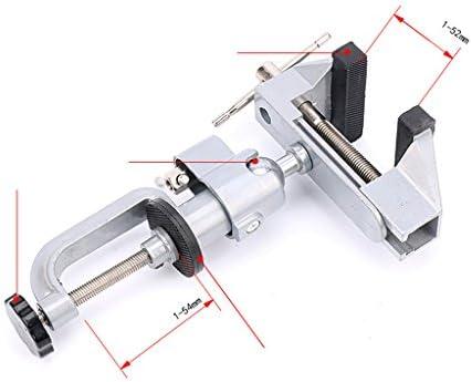 バイス 卓上クランプ 360度回転 木工 修理 モデルメーカー アルミ合金