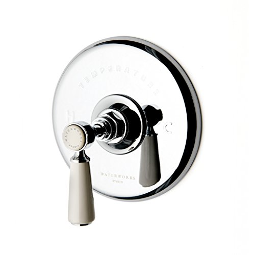 Waterworks Highgate Thermostatic Control Valve in Chrome by waterworks-studio