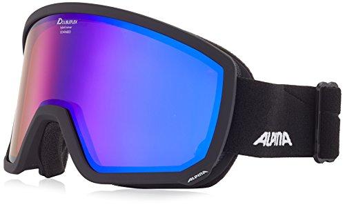 Alpina Scarabeo Lunettes de ski taille unique Noir mat