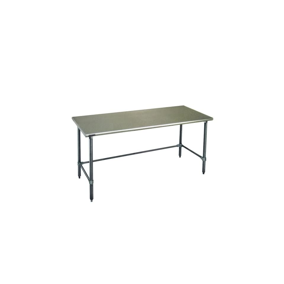 "Eagle Group T3072GTEM 30"" x 72"" Open Base Stainless Steel Commercial Work Table Kitchen Products Kitchen & Dining"