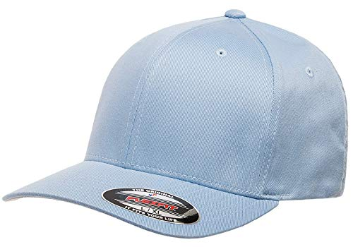 - Flexfit Men's Athletic Baseball Fitted Cap, Carolina Blue, L/X-Large