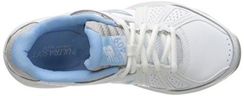 Nuovo Equilibrio Womens Wx409v3 Scarpa Da Allenamento Comfort Informale Bianco / Blu