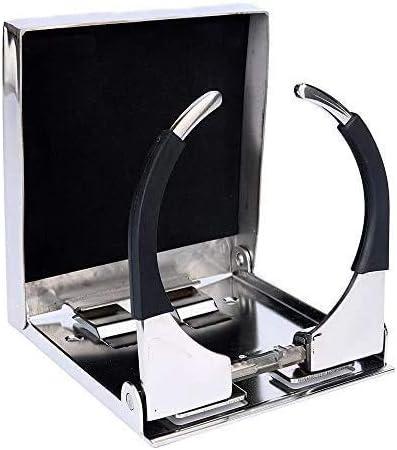 CT-CARID - Soporte de metal ajustable y plegable para taza/vaso de bebida. Soporte universal para barcos, coches y camiones