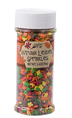 Autumn Leaves Sprinkles by Festival