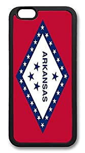 ACESR Arkansas Kawaii iPhone 6 Case pc hard Back Cover Case for Apple iPhone 6 4.7inch Black