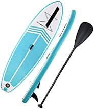 Inflatable Paddle Board SUP Stand-Up Paddle Board Non-Slip Paddle Board 120in*30in*6in with Complete Accessori