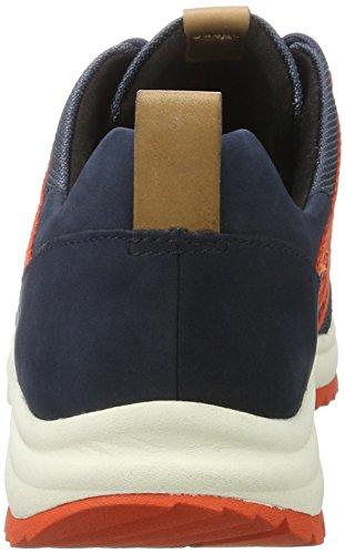 Sneaker Damen Tri Navy Clarks Trail Combi Blau q76wgtxB