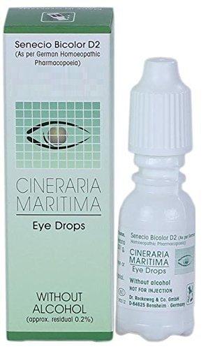 Cineraria Maritima Euphrasia Eye Drops