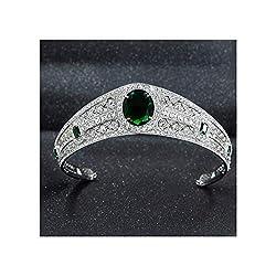 Real Rhinestone Bridal Tiara
