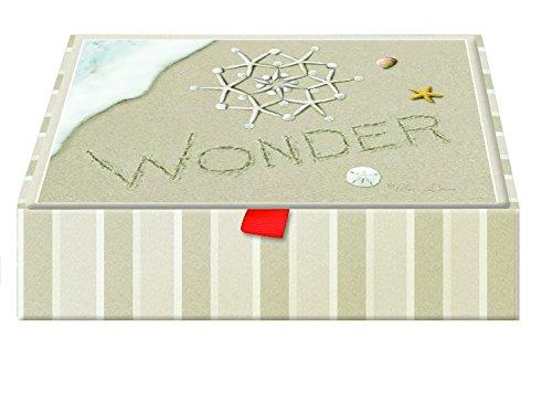 Performing Arts Keepsake Box, Full Color Inside Designs Keepsake - Water's Edge Stationery Paper, (Edge Stationery)