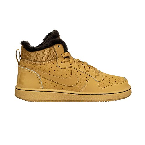 baroque Gs Nike Mid 001 Homme Court Wntr haystack haystack Borough Sneakers Brown Basses Multicolore rPIWqRPfA
