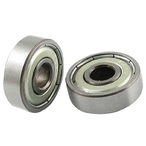- Uxcell 626Z Double Metal Shielded Miniature Metric Ball Bearings 6 x 19 x 6mm 5 Pcs,