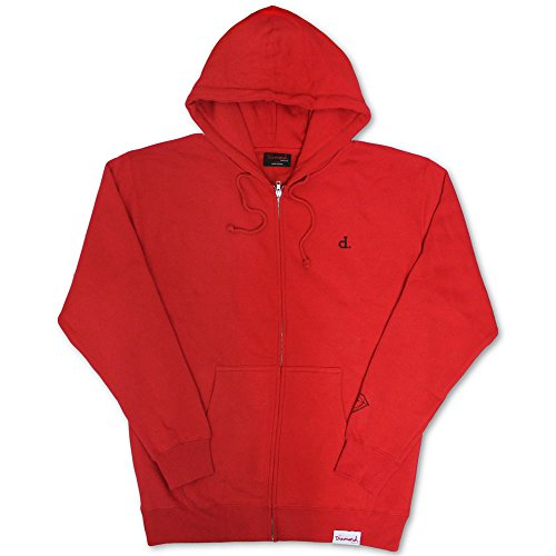 Diamond Supply Co Mini Un Polo Hoodie Red by Diamond Supply Co