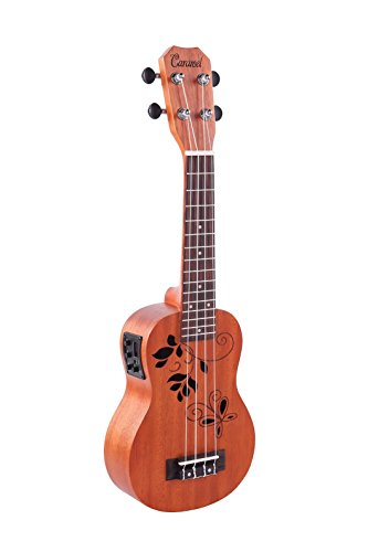 Caramel CS400 Mahogany Butterfly Acoustic product image